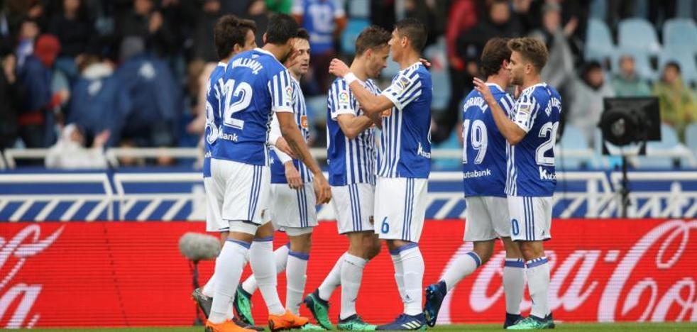 La Real Sociedad sufre para imponerse al Leganés