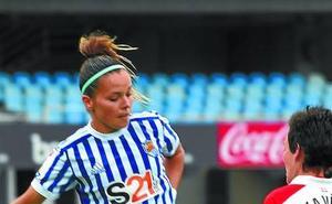 Claudia Zornoza: «En la Copa, la Real Sociedad tiene las mismas posibilidades que el resto de equipos»
