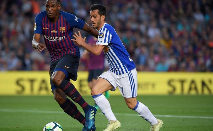 Barcelona-Real Sociedad, en imágenes
