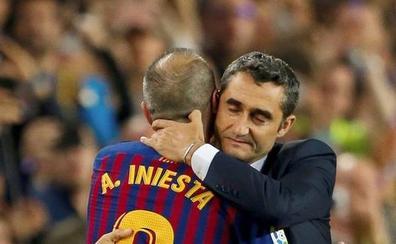 Valverde: «Iniesta es un jugador único, irrepetible»