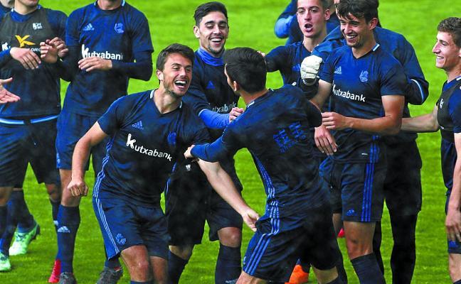 Real Sociedad B-Fuenlabrada, un partido para crecer... y ganar