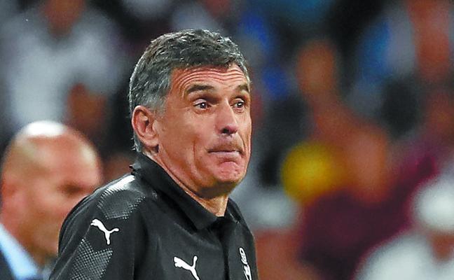 Mendilibar: «Hemos sido un equipo majo, pero nos ha faltado fortaleza»