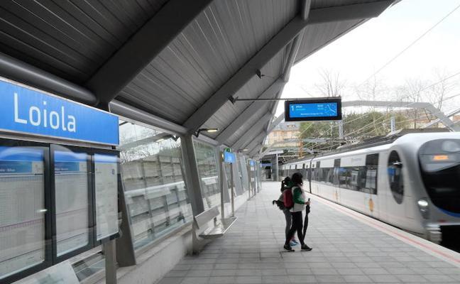 Euskotren refuerza el domingo su servicio de trenes por el Derbi en Anoeta