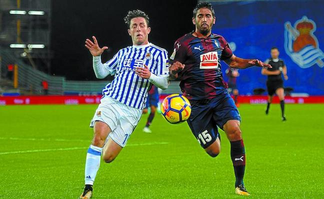 El uno a uno de los jugadores del Eibar ante la Real Sociedad