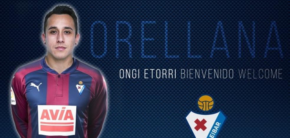 Orellana, cedido al Eibar por el Valencia hasta final de temporada