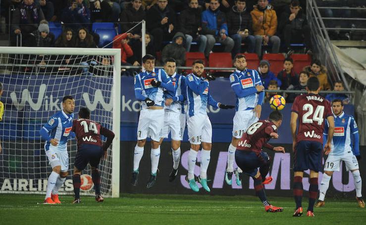 Las mejores imágenes de la victoria del Eibar sobre el Espanyol