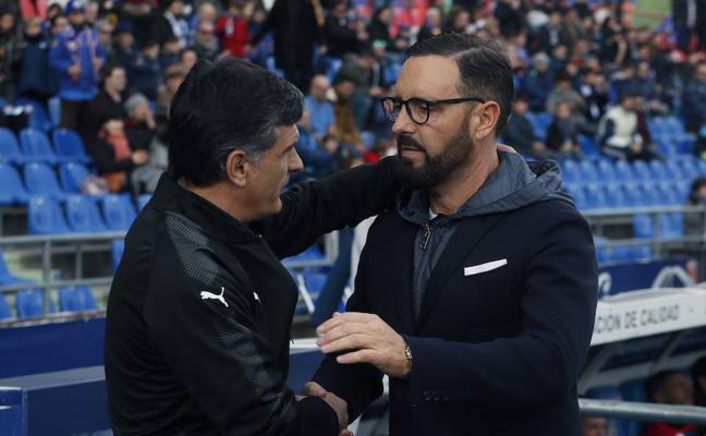 Mendilibar: «El partido no ha sido bonito, pero sumar siempre es bueno»