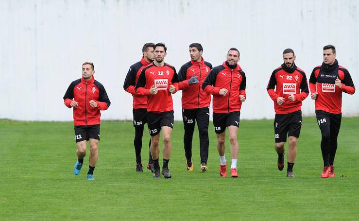 El Eibar retoma los entrenamientos con varias ausencias