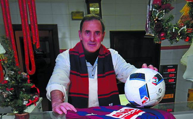 José Ignacio Garmendia (Exjugador de la S.D. Eibar): «Estos cuatro años del Eibar en Primera me han hecho revivir»