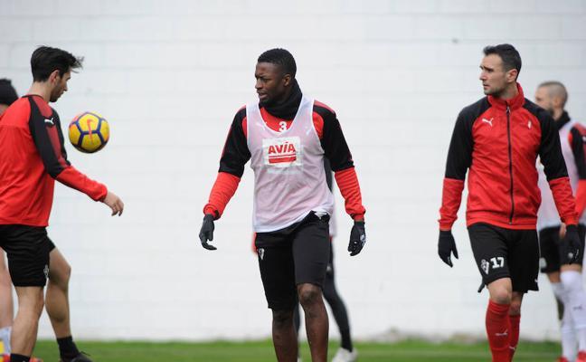 Diop: «Queremos recuperar los puntos perdidos ante el Atlético»