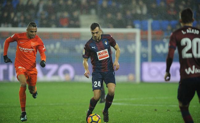 El uno a uno del Eibar contra el Málaga