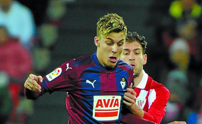 El uno a uno de los jugadores del Eibar ante el Athletic