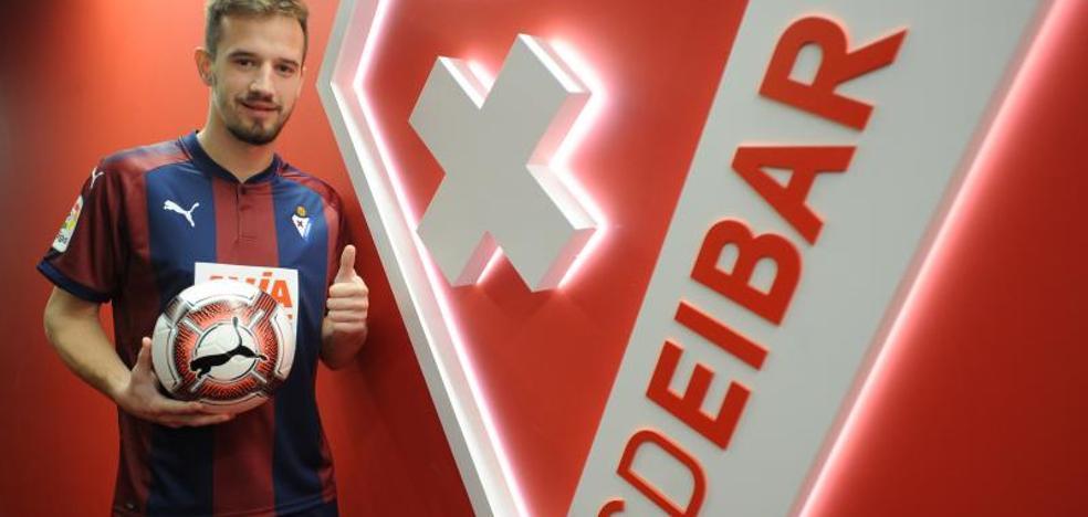 Jovanovic: «No me lo pensé cuando me dijeron para venir al Eibar»