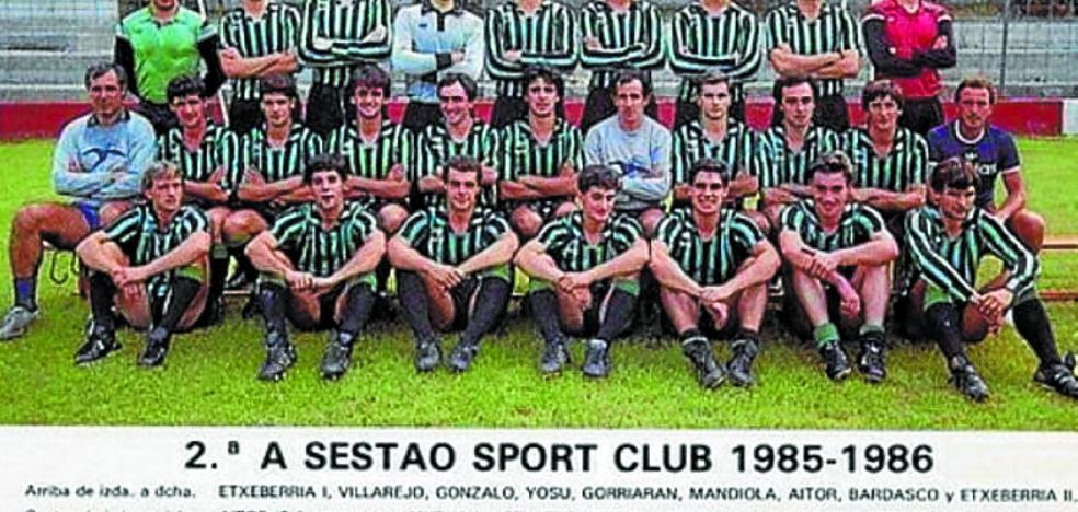 Valverde y Mendilibar, juntos en una foto para el recuerdo