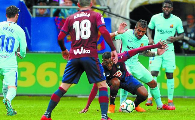 Con el Barça no vale solo voluntad
