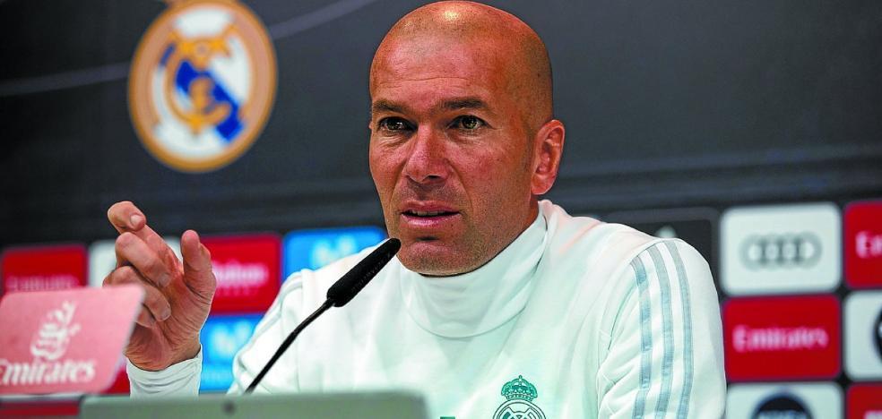 Zidane viene con todo, pero con rotaciones en mente