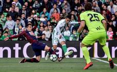 El uno a uno de la derrota del Eibar ante el Betis