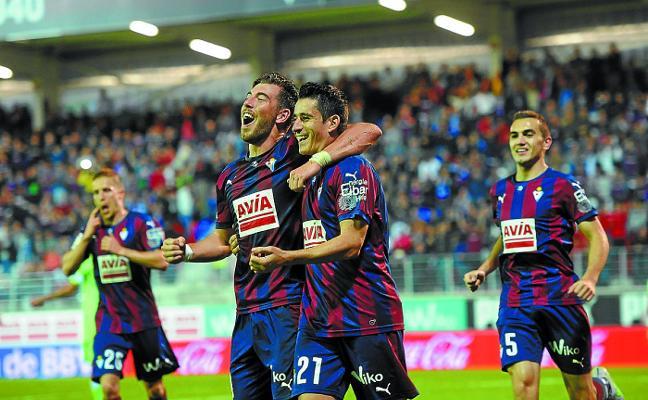El Eibar ha ganado en Ipurua los dos duelos en Primera contra el Getafe