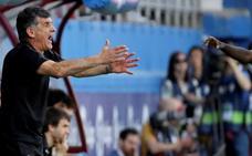 Mendilibar: «La clave de la derrota es que hemos vuelto a empezar mal»