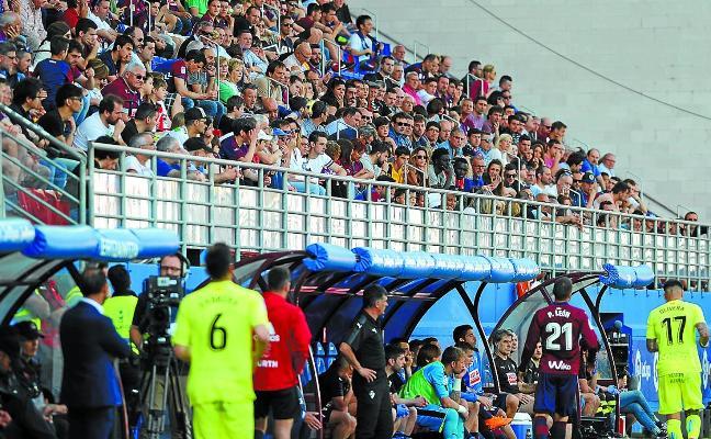 No marcar es sinónimo de derrota para el Eibar