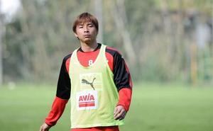Inui se va a Japón con permiso del Eibar para tratar su lesión