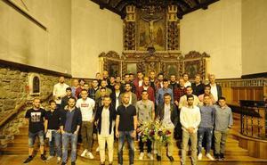 El Eibar se despide hoy con la tradicional ofrenda floral a la Virgen de Arrate