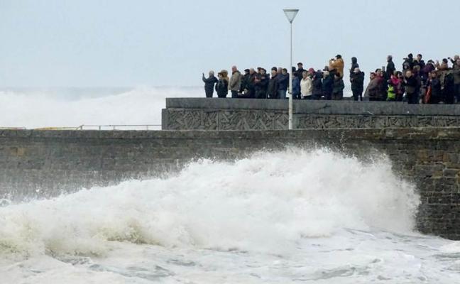 El día de San Sebastián lloverá tanto como en una quincena de cualquier otro enero