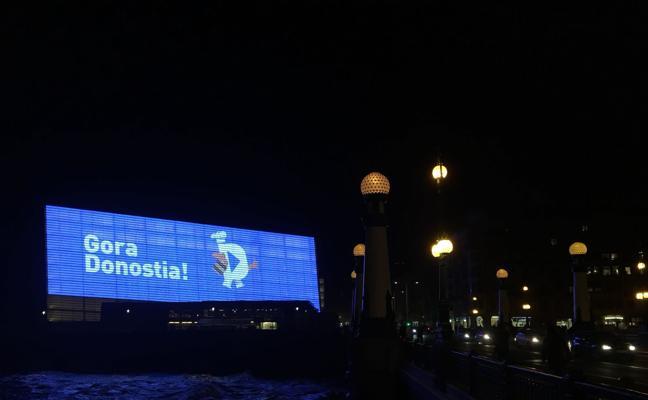 El Ayuntamiento estrenará la pantalla led del Kursaal con motivo del día de San Sebastián