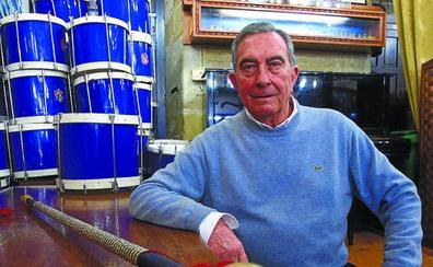 Adiós a Juan Mari Abad, Tambor Mayor de Gaztelubide durante quince años