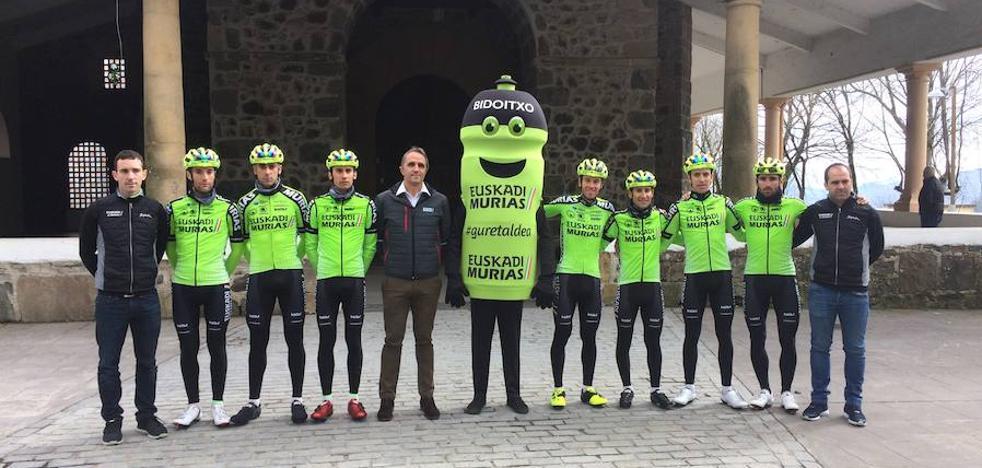 Euskadi-Murias presenta el siete para la Vuelta al País Vasco