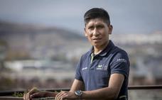Quintana: «Este año la contrarreloj de la Vuelta al País Vasco puede ser decisiva»