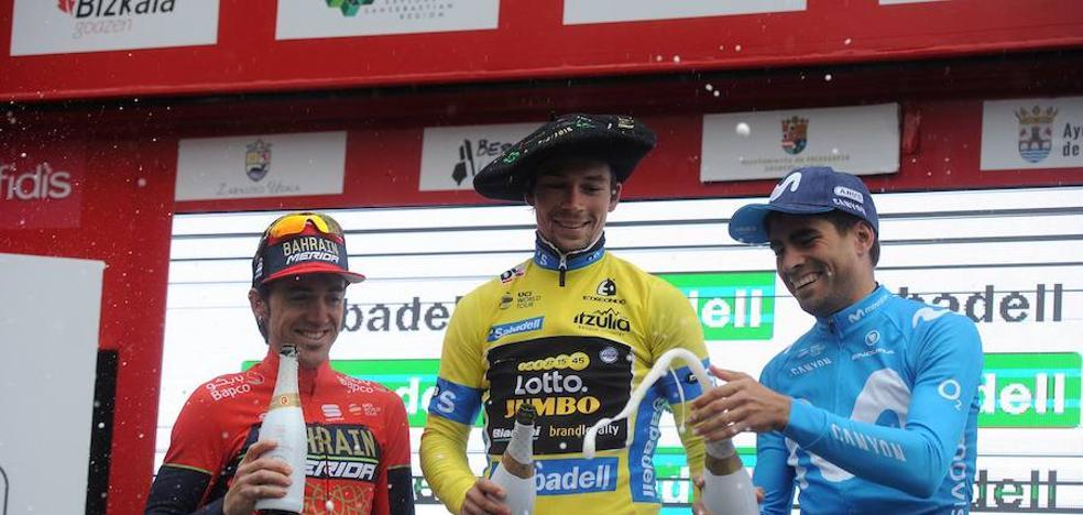 Primoz Roglic, campeón de la Vuelta al País Vasco 2018
