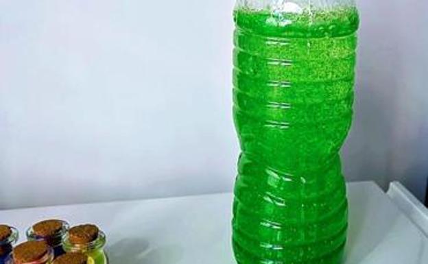La botella de la calma