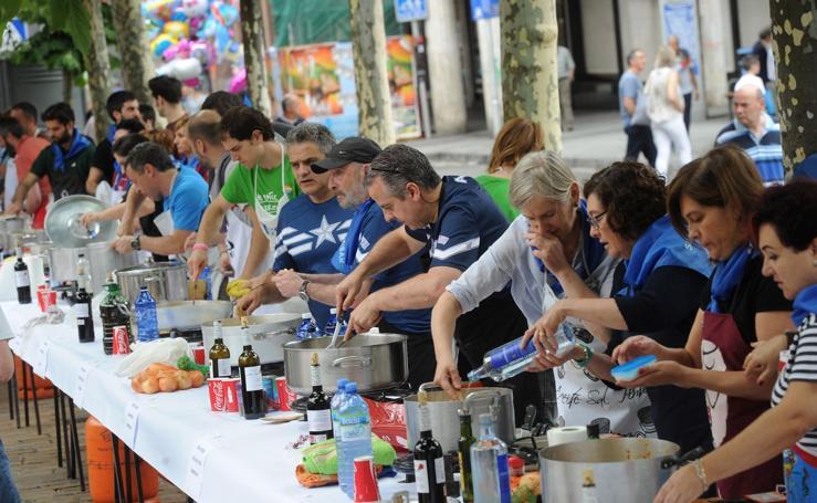San Juan Txiki, fin de fiesta a lo grande en Eibar