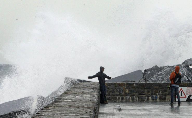 El espectáculo de las olas