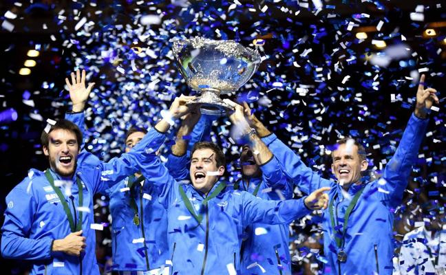 Las finales de la Copa Davis y de la Copa Federación 2018 se celebrarán juntas