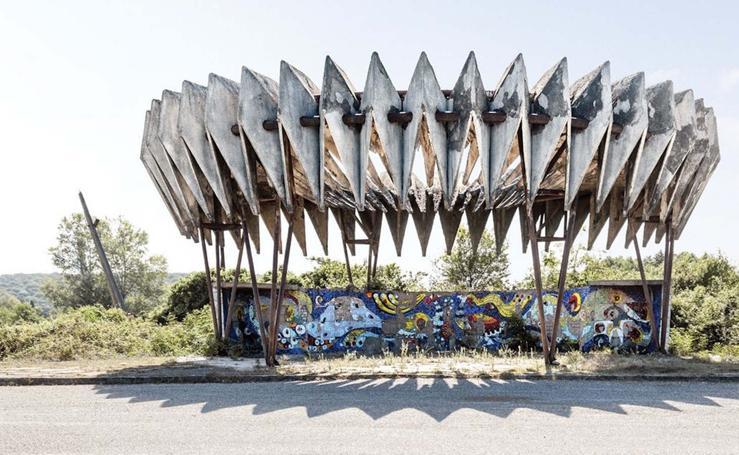 Los 'Soviet Bus Stops', entre el brutalismo y el capricho
