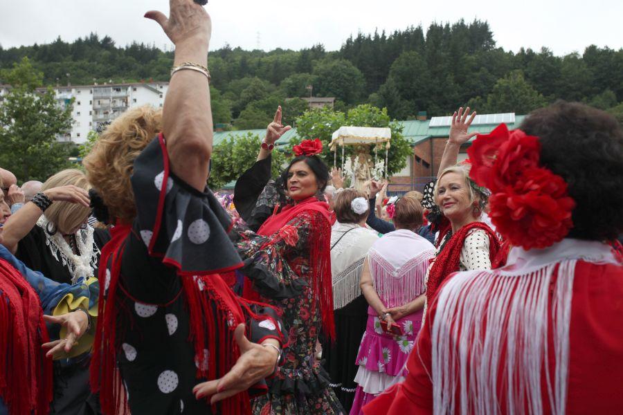 La XXVII Romería del Rocío ha recibido a 18 casas andaluzas
