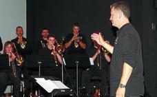 La Euskadiko Ikasleen Jazz Orkestra actuó en Galarreta en Orona