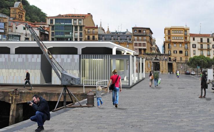 La reforma de la lonja de Donostia empezará este año