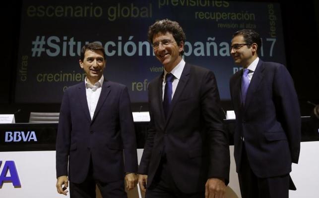 El BBVA prevé que España crezca este año al mayor ritmo desde 2007