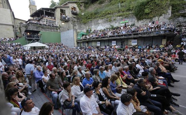 El aforo de la 'Trini' será de 1.780 espectadores durante el Jazzaldia
