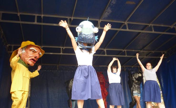 Trintxerpe celebra dos chupinazos