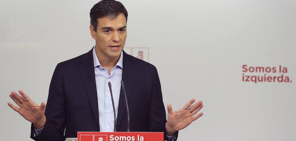 Sánchez quiere que la Constitución recoja las «aspiraciones nacionales» de Cataluña