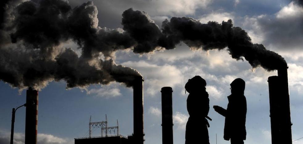 Los gases invernadero inciden un 40% más en el calentamiento global que en 1990