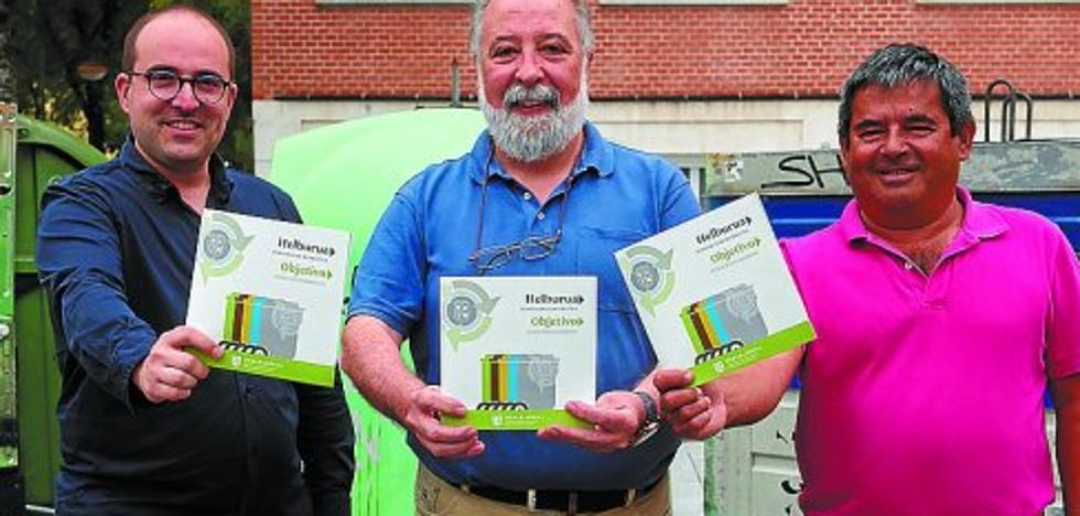 La Mancomunidad aspira llegar al 60% de reciclaje con el contenedor gris con chip