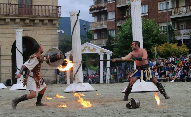 Irun vuelve a su pasado romano