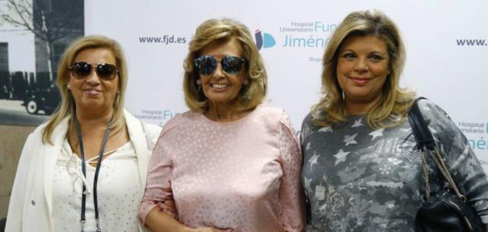 Teresa Campos reaparece en la presentación de la biografía de Terelu