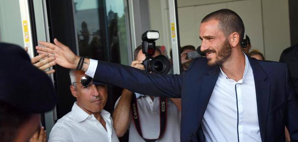 Bonucci devuelve al Milan su identidad