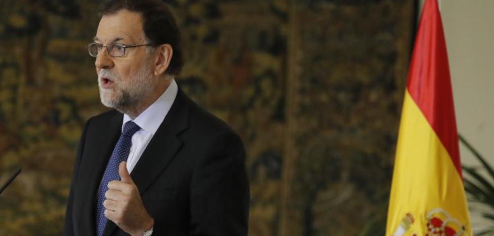 Rajoy, a Puigdemont: «Se purga a los dudosos, triunfando el radicalismo»